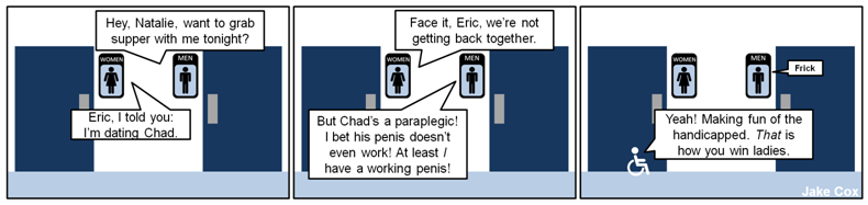 Eric is a jerk.